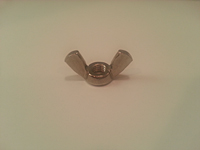 Cold Forged Wing Nuts - Zinc